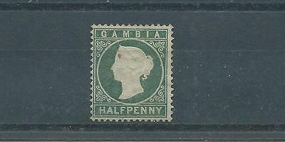 Gambia SG22 1886 1/2d Grey-green Used
