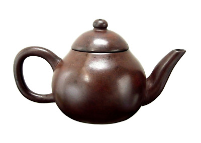 Yixing Teapot 19th late Qingdynasty Mengchen mark(Polished)Original and genuine