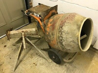 used cement mixer with stand