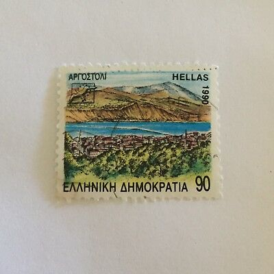 Greek Postage Stamp Collectable
