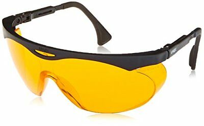 Uvex S1933X Skyper Safety Eyewear, Black Frame, Sct-Orange Uv Extreme Anti-Fog L