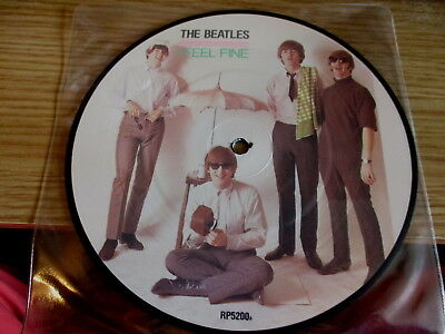 "The Beatles-7"" Vinyl Record Picture Disc-I Feel Fine/she's A Woman"