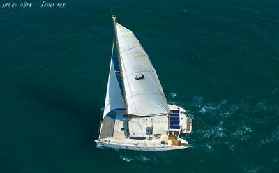 catamaran sailing yacht for charters or private