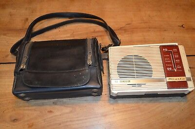 Ancienne Radio Transistor Atlantic Vintage Annee 50/60