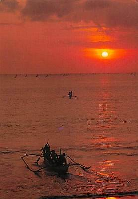 Philippines Tropical Sunset Boats Bateaux