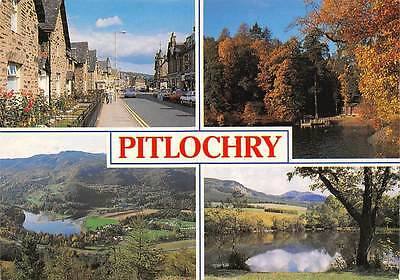 Pitlochry Atholl Road Loch Faskally from Craigower Ben Vrackie from the Cuilt