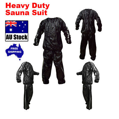 Sauna Suit Heavy Duty Weight Loss Fitness Exercise Gym Unisex Active Wear