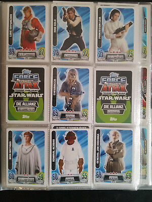 Star Wars Force Attax Movie Series Movie Edition 2 ccg