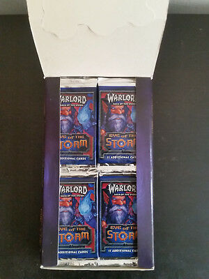 Warlord Saga of the Storm Eye of the Storm booster box (45 from 48) box ccg tcg