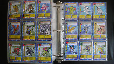 140 Digimon Karten Starter Set 1 alle der 1. Edition - 140 Digimon cards St-01