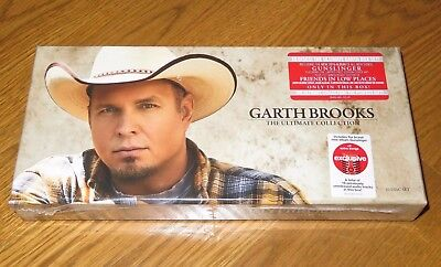 New GARTH BROOKS The Ultimate Collection 10 CD Disc BOXED SET