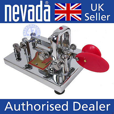 Vibroplex Vibrokeyer Deluxe (Chrome) Deluxe single lever paddle  NEW