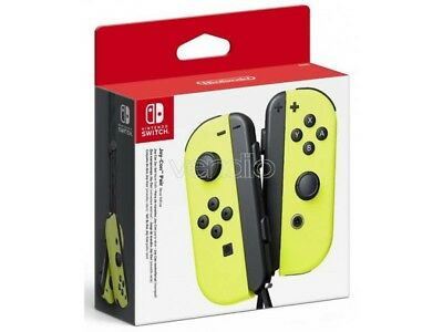 Nintendo Switch Set 2 Joy-Con Giallo Joypad