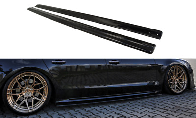 Audi A8 S8 D4 4H SIDE SKIRTS SIDESKIRTS BLADE SILL COVERS cover S Line 8 Skirt