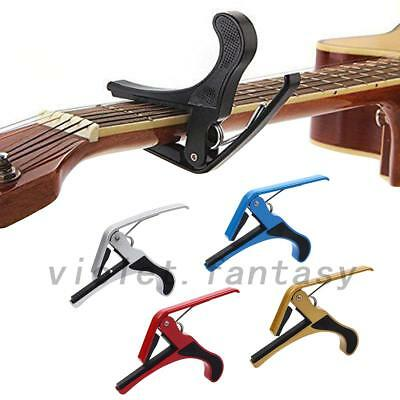 Guitar Capo Clamp for Electric and Acoustic Tuba Guitar Quick Trigger Release VF
