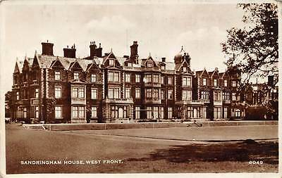 Sandringham House West Front, Real Photograph