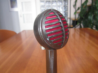 Vintage Custom Astatic Biscuit Harp Mic Harmonica Microphone...shell Only!!!!!