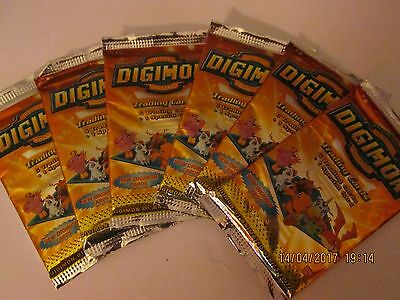digimon booster pack 1999 BAN-DAI sealed (Series one)