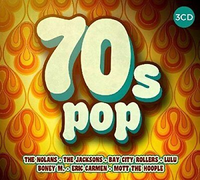 70's POP 3 CD SET - 60 HITS (2017)