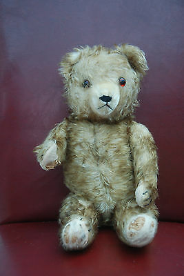 SALE SALE!!! RARE Vintage Antique Old Hermann/German Teddy Bear - tipped mohair