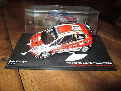 voiture 1:43 rallye - Fiat Abarth Grande Punto S2000 - Rally Portugal 2008