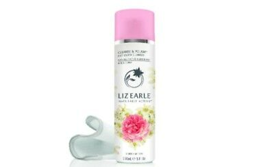 LIZ EARLE LTD EDITION CLEANSE AND POLISH 150ml ROSE & CEDRAT WITH 2xMUSLIN CLOTH