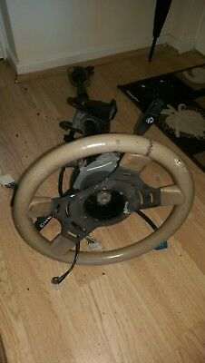Rover Sd1 Steering Column With Sports Steering Wheel