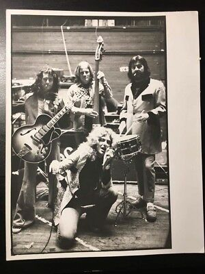 Ultra rare authentic Led Zeppelin photograph photo The Band Never Seen