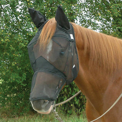 Cashel Quiet Ride Fly Mask with Long Nose and Ears