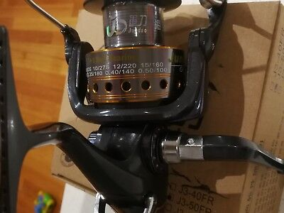1 Brand new bait feeder fishing reel J3 50 FR 7+1 ball bearings baitfeeder$39