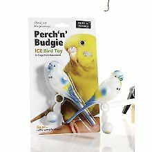 PET-322115 Ruff 'N' Tumble Perch 'N' Budgie 16cm