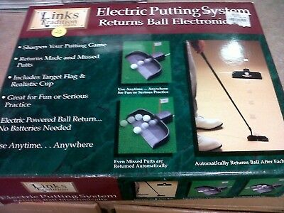 Electric Golf Putting System - Returns Ball Electronically. Dennco. Best Price
