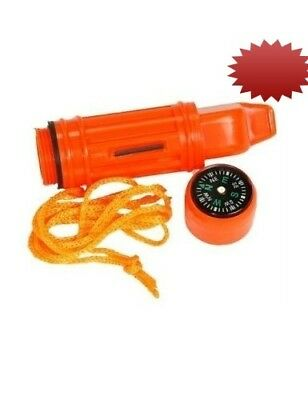 5-in-1 Survival Whistle (12 Whistles). Sona. Huge Saving