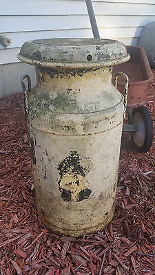 Vintage Dairy 5 Gallon Cream Can with Super Cool Patina!
