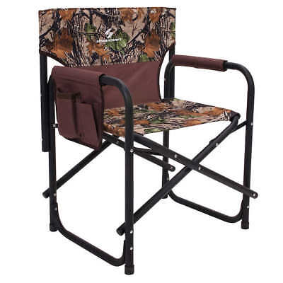 New Sportcraft Big Boy Camo Folding Directors Camping Chair Outdoor Camouflage