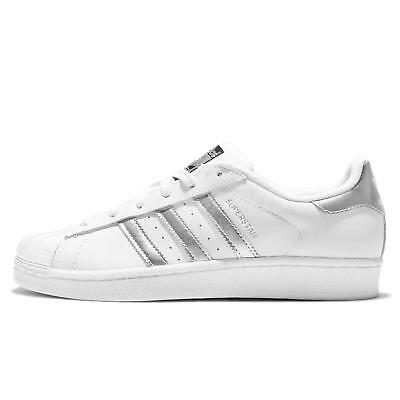 Adidas Superstar Originals AQ3091 Silver Metallic Donna Uomo Shoes Sneakers