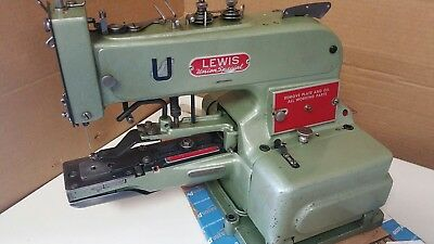 Lewis Union Special 200-2 Button  Drapery Tacker Industrial Sewing Machine