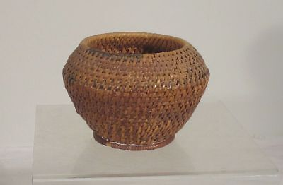 Antique Vintage Indian Native American Woven Basket