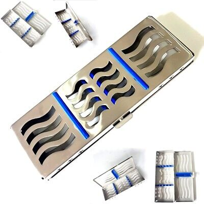 NEW DESIGN Sterilization Cassette Rack Tray Hold 5 Dental Surgical Instruments
