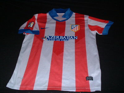 Atletico Madrid Spain Espana Spanish La Liga Football Medium Mans Home Jersey
