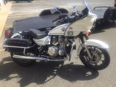 1997 Kawasaki KZ1000 POLICE  1997 KAWASAKI KZ1000 MOTORCYCLE BE LIKE CHiPs