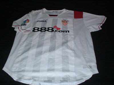 Sevilla Spain Espana La Liga Football XL Extra Large Mans Player Issue Jersey