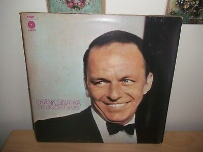 Frank Sinatra ‎– His Greatest Years, 3 × Vinyl, LP, Compilation