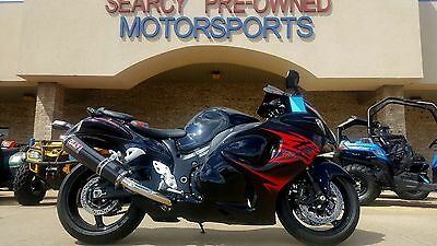 2011 Suzuki Hayabusa  2011 Suzuki Hayabusa 1340 Black and Red Razorback low miles FREE SHIPPING