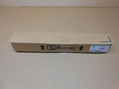 1 Nib Panduit Srbwcy Strain Relief Bar With Adjustable Clips *20+ In Stock*