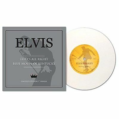 """Elvis Presley That's All Right Blue Moon Of Kentucky 7"""" VINYL Limited Edition"""