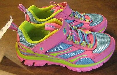 NEW S SPORT designed by Skechers Athletic Sneakers Girl's Size 11 Lights Pink