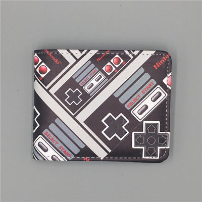 Hot Selling Nintendo Co., Ltd. wallets short leather bifold free shipping
