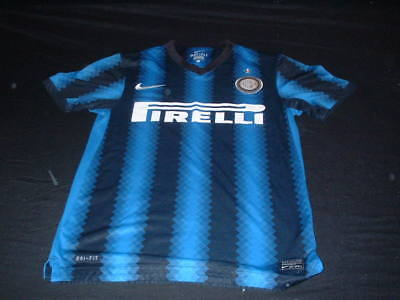 Inter Milan Italy Italia Serie A Soccer Football Small Mans Nike Home Jersey