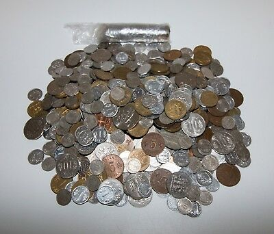 2kg Special offer -  Hundreds of Icelandic Coins - Mixed Traders Lot